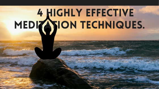 Self Development with 4 effective meditations by the sea